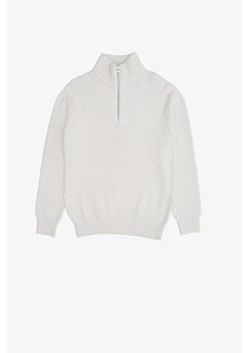 Half Zip Rib Knit Jumper