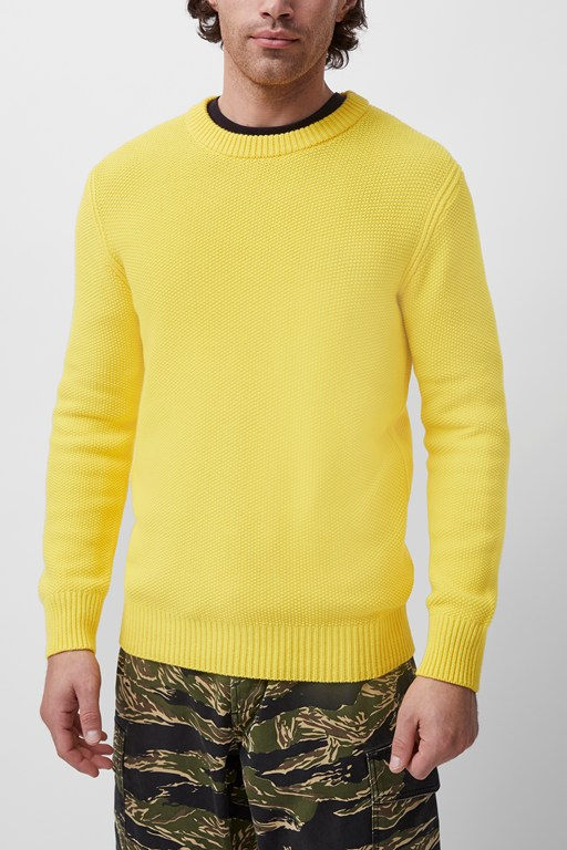 moss stitch jumper