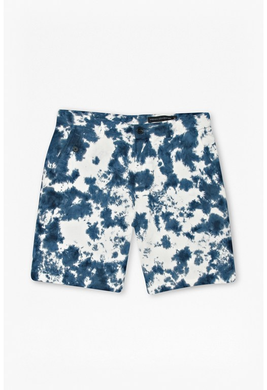 Over Dyed Tie Dye Shorts