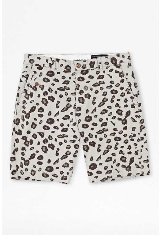 Pelt Print Cotton Kent Shorts
