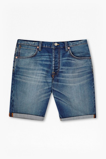 Infinity Stretch Slim Denim Shorts