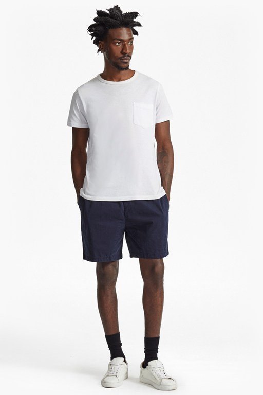 yoyo garment dyed stretch shorts