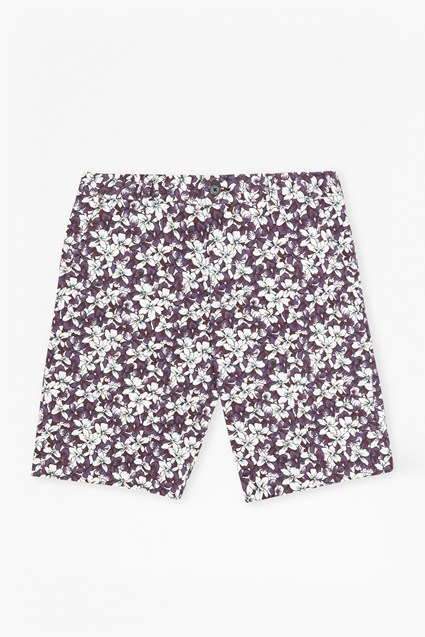 Bail Peach Pie Twill Printed Shorts