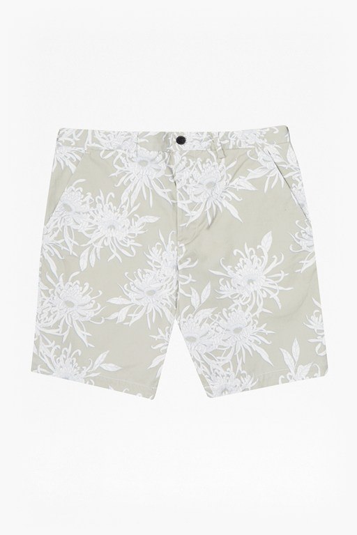 Complete the Look Cosmic Chrysanthemum Printed Shorts