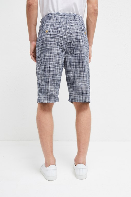 Complete the Look Linen Chambray Gingham Shorts