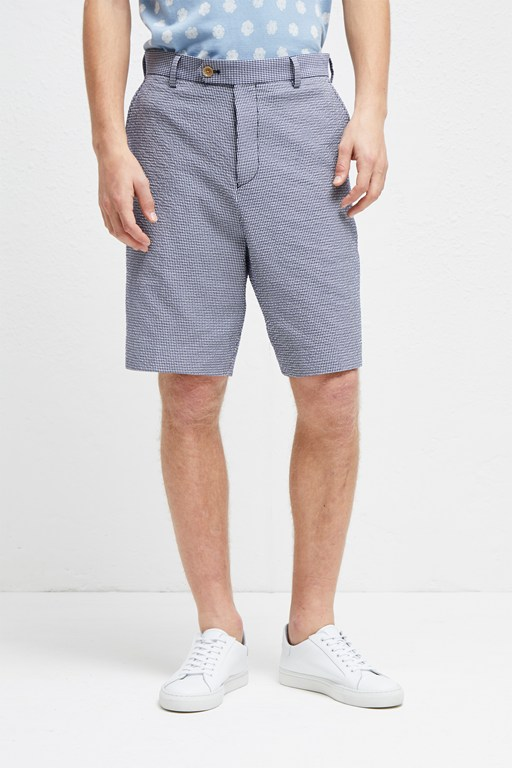 seersucker suiting shorts