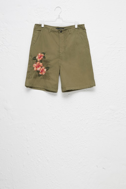 overdyed lightweight shorts