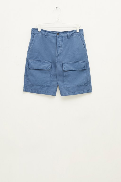 Complete the Look Garment Dyed Cotton Linen Shorts