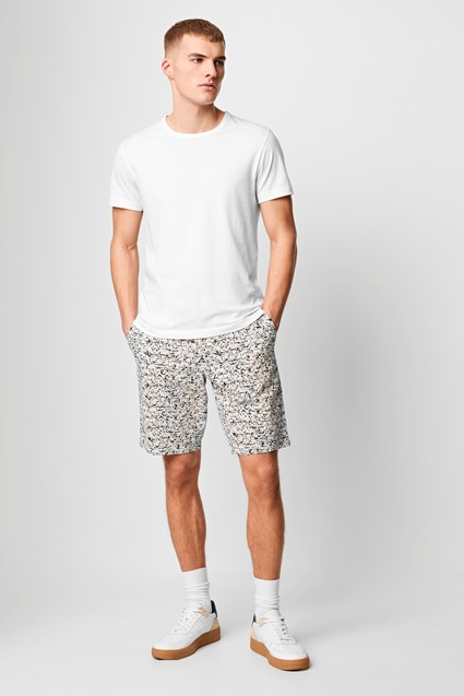 Puck Print Machine Stretch Shorts