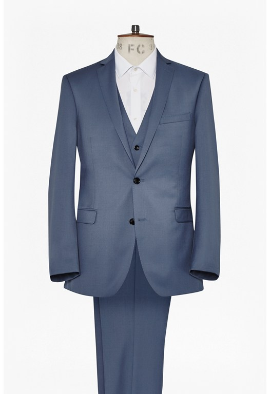 Powder Blue Three Piece Suit