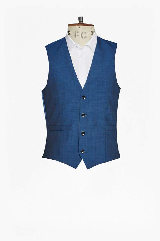 Complete the Look Slim Pin Dot Waistcoat