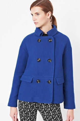 Cool Coating Wool Coat