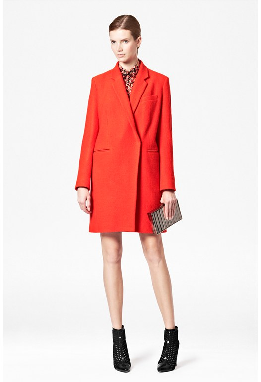 Belle Boucle Wool Coat