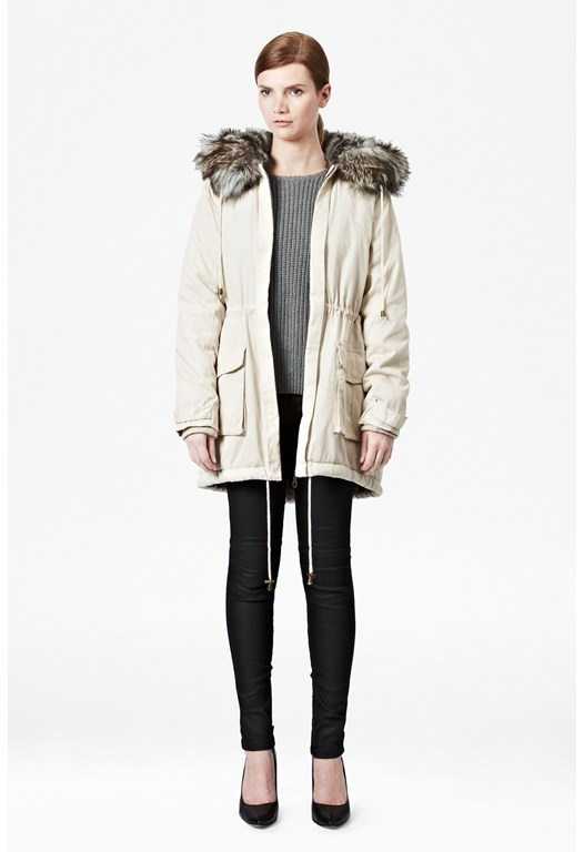 Freda Hooded Parka Coat