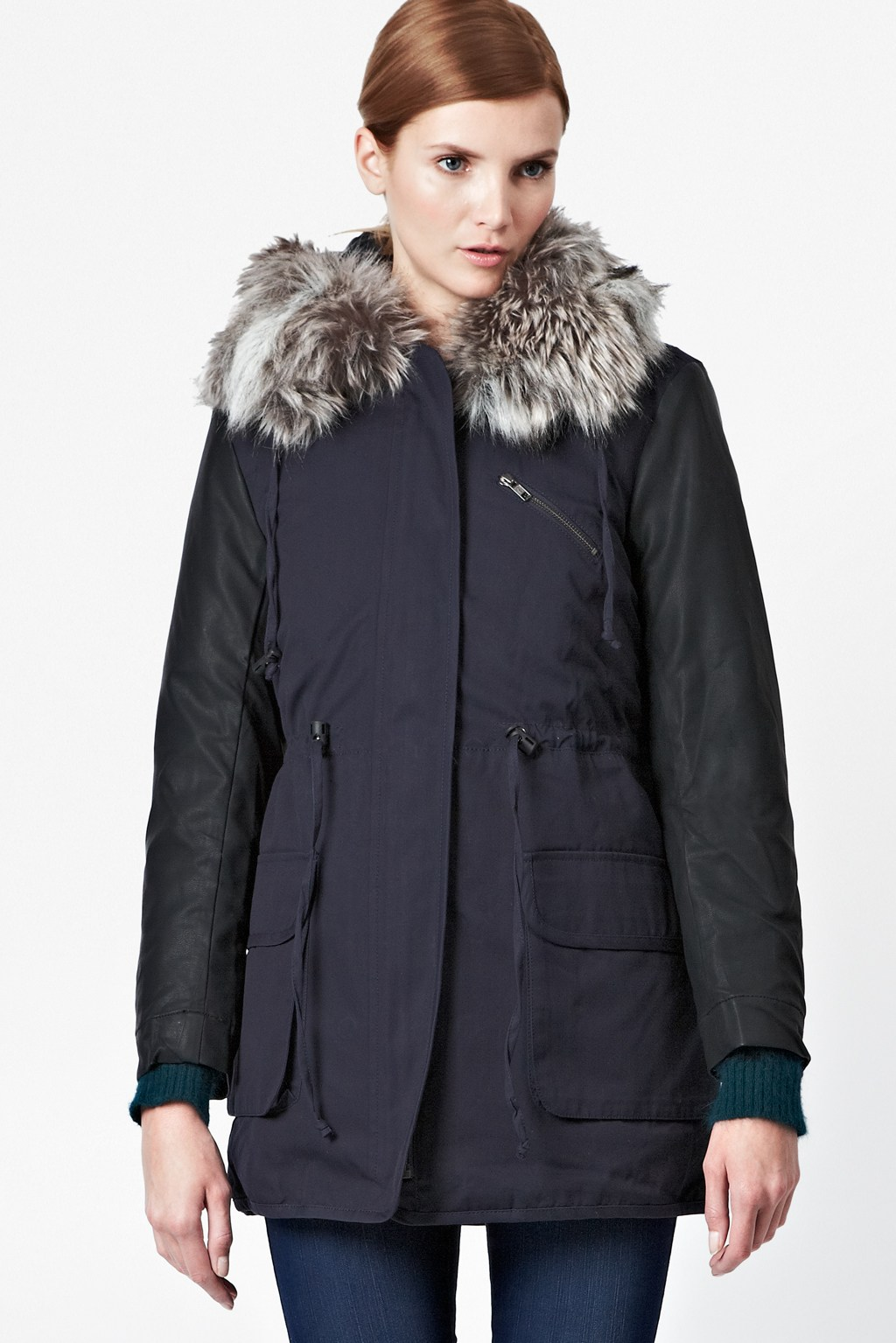 French Connection Hooded Parka