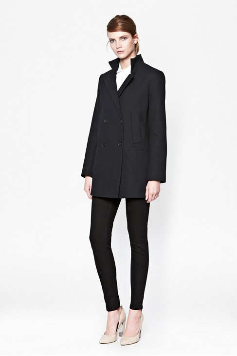 Nico Double-Breasted Wool Coat