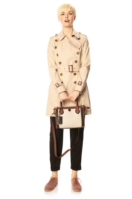 Smartcatch Belted Trench Coat