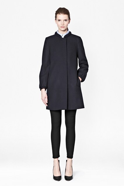 Wonderland Wool-Blend Coat