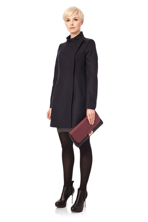 Wonderland Wool High Coat