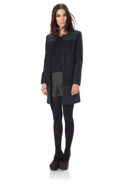 Wonderland Wool Zip-Thru Coat