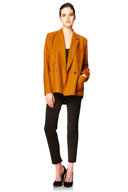 Astral Wool Double Breasted Blazer