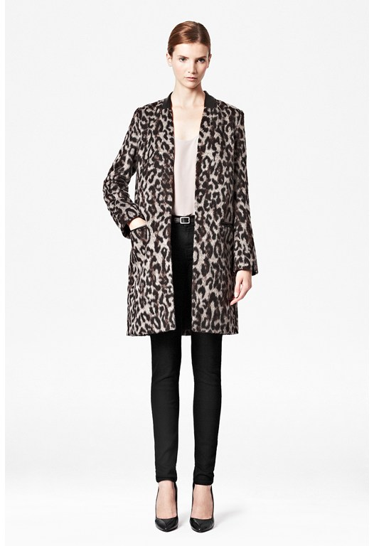 Teddy Leopard Coat