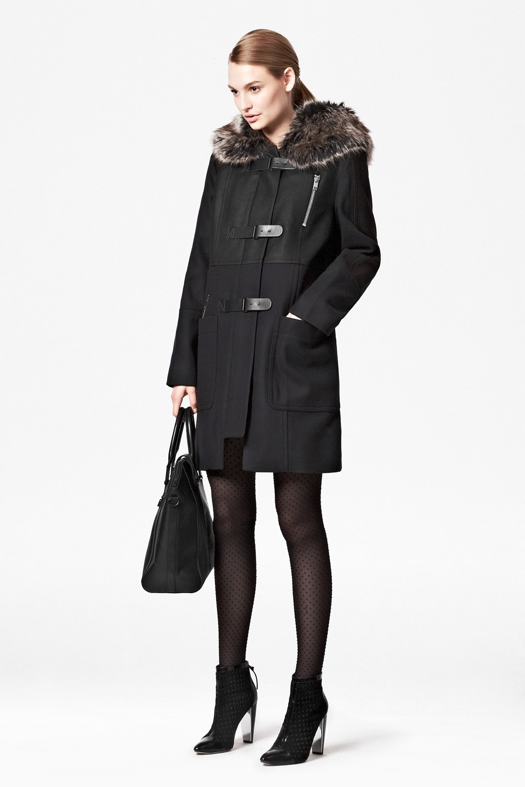 Battersea wool duffle coat - French Connection - Telegraph