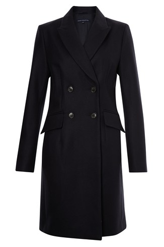 Wonderland Wool Double-Breasted Coat