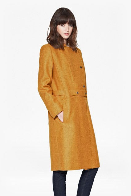 Northern Wool Belted Coat