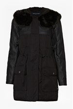 Looks Great With Rhumba Faux Fur Hooded Parka