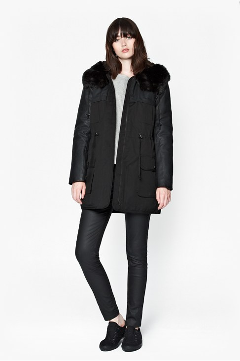 Rhumba Faux Fur Hooded Parka