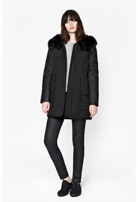 Womens Coats & Jackets | Faux Fur Coats | French Connection