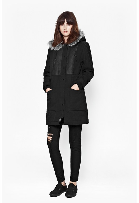 Freda Blizzard Hooded Parka