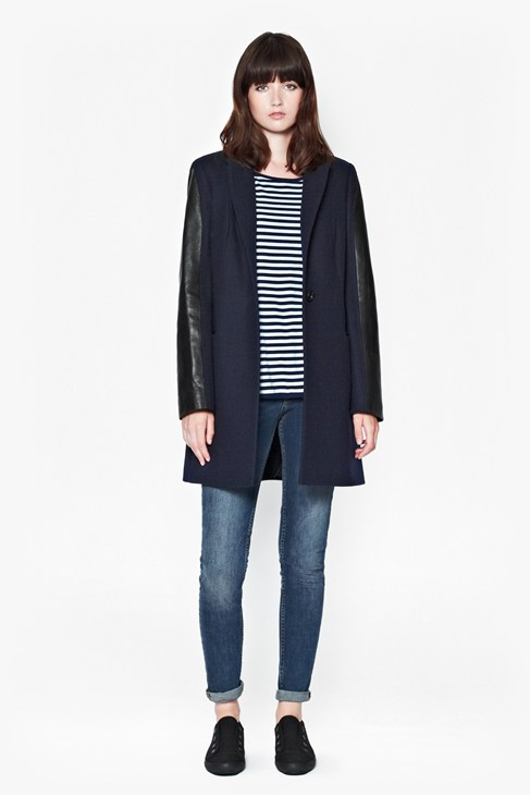 Ex-Boyfriend Wool-Blend Coat