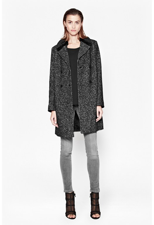 Willow Wool Double-Breasted Coat