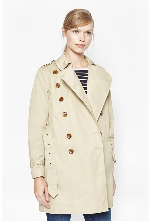 Smart Catch Military Trench Coat