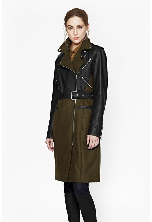 Idol Belted Trench Coat