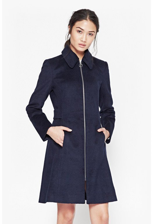 Atomic Zip Up Coat