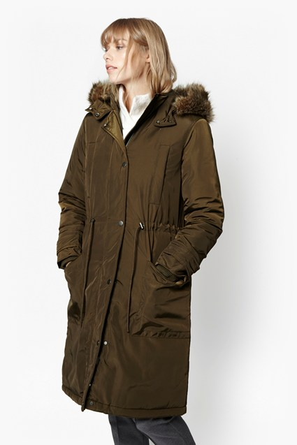 Poppy Faux Fur Parka
