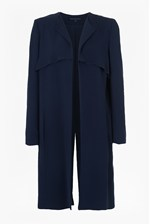 Looks Great With Rikki Crepe Duster Coat