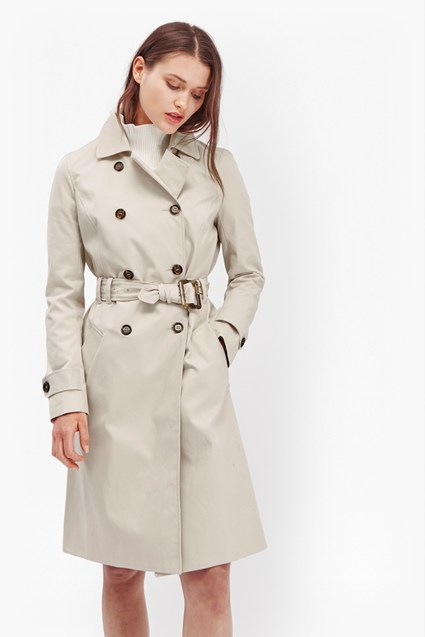 Canyon Twill Trench Coat