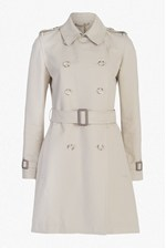 Looks Great With Freeway Cotton Belted Trench Coat
