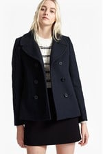 Looks Great With Sailor Wool Double Breast Coat