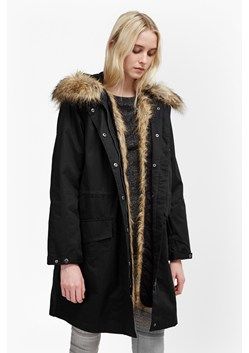 Cocoon Cotton Hooded Longline Parka