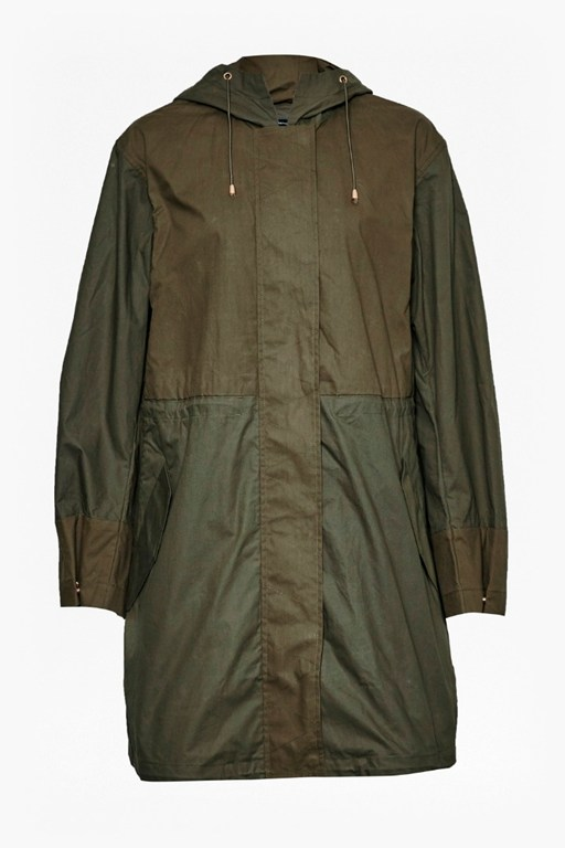 Complete the Look Mili Canvas Summer Parka
