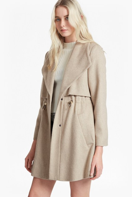 Runaway Wool Short Coat