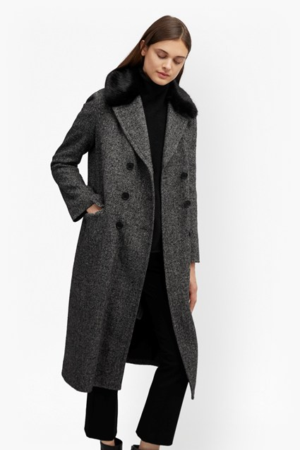Rupert Tweed Long Double Breast Coat