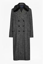 Looks Great With Rupert Tweed Long Double Breast Coat