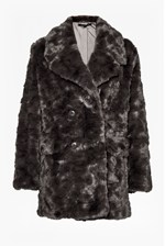 Looks Great With Nariko Fur Double Breast Coat