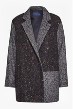 Looks Great With Terence Tweed Patch Cocoon Coat